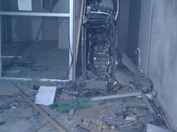 Grupo explode banco em Itaiçaba na madrugada de terça-feira, no Ceará