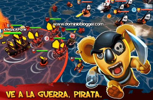 Construye tu isla y domina el mar en el juego Tropical Wars