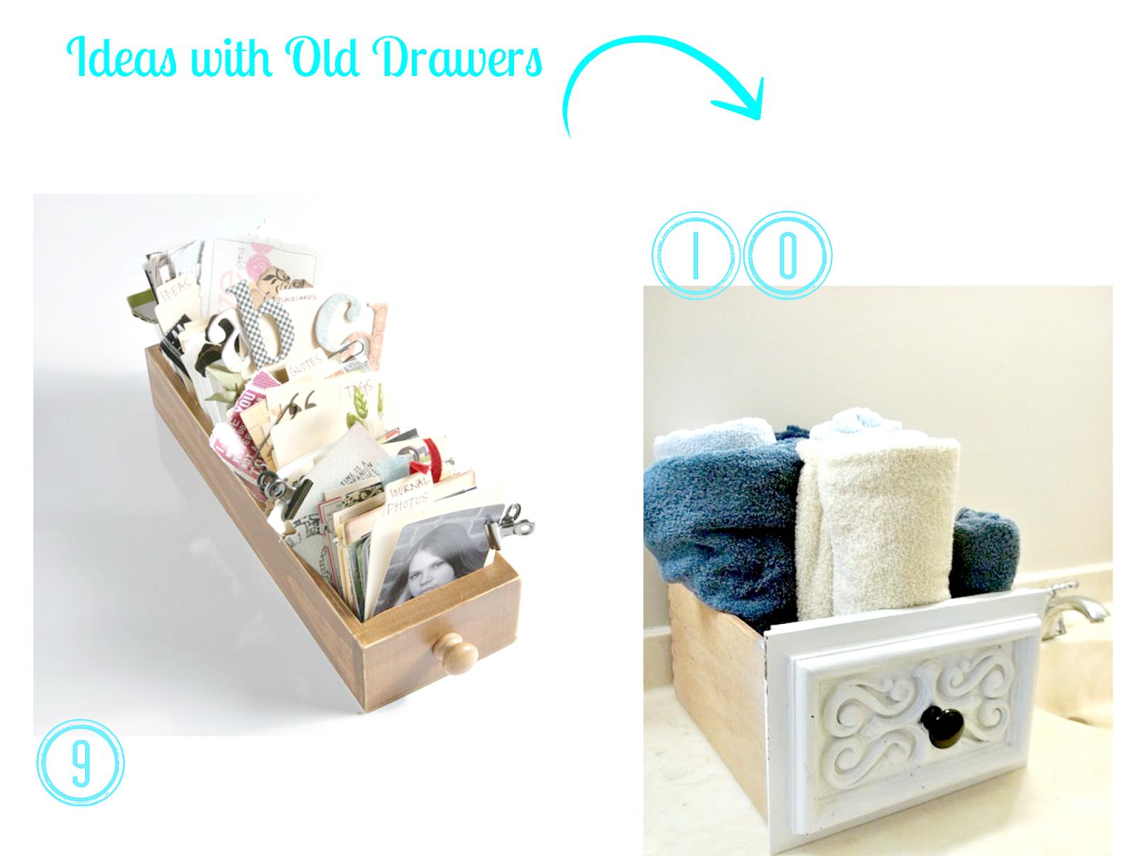 DIY drawers