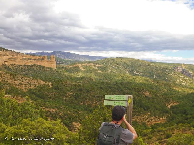 Vista Ruta Huevo de Morrano - Huesca por El Guisante Verde Project