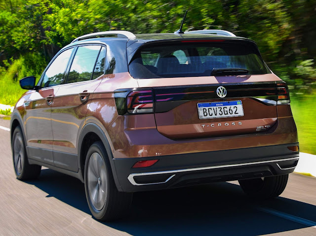 Novo VW T-Cross 2020