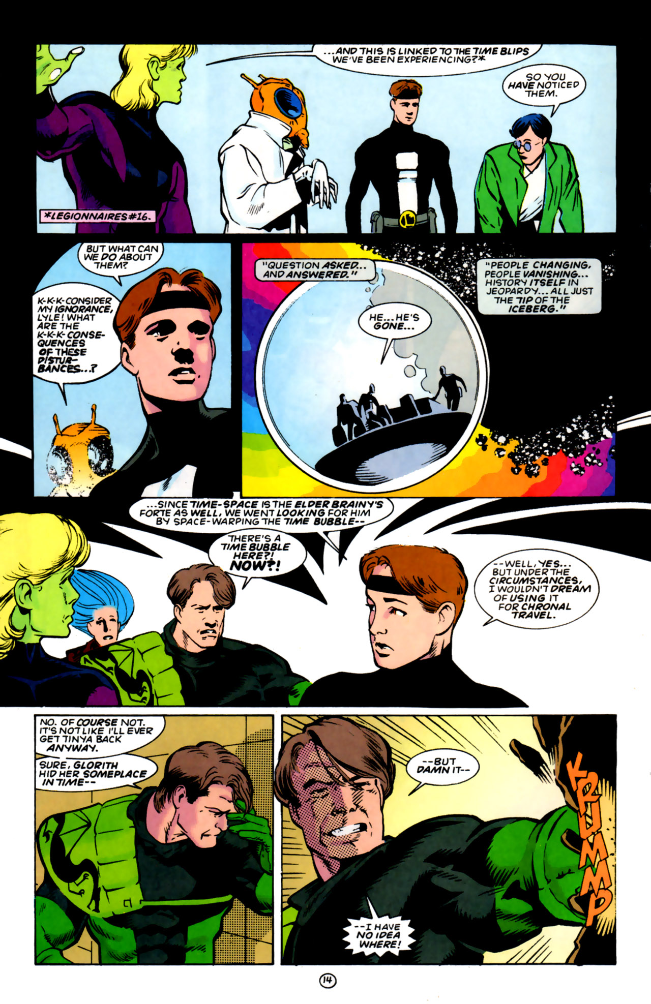 Legion of Super-Heroes (1989) 59 Page 14