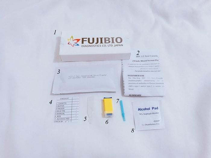 FUJIBIO HIV test kit review