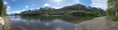 Silver Lake Flat Reservoir - American Fork Canyon