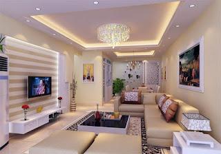 plafon ruang tamu
