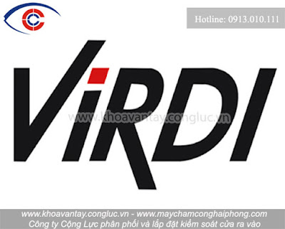 Logo thương hiệu kiểm soát cửaVirdi.