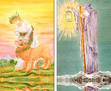 strength hermit tarot
