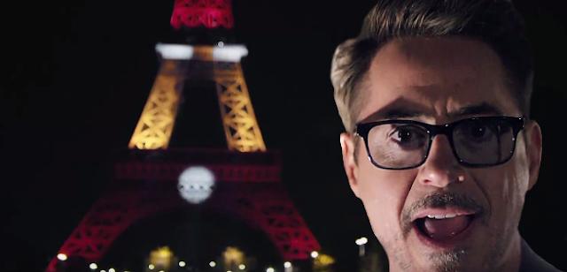 Homem de Ferro Torre Eiffel