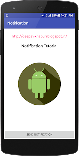 Send Notification In Android  Using Kotlin
