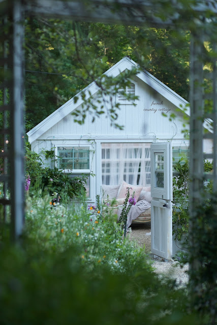 garden shed cottage style
