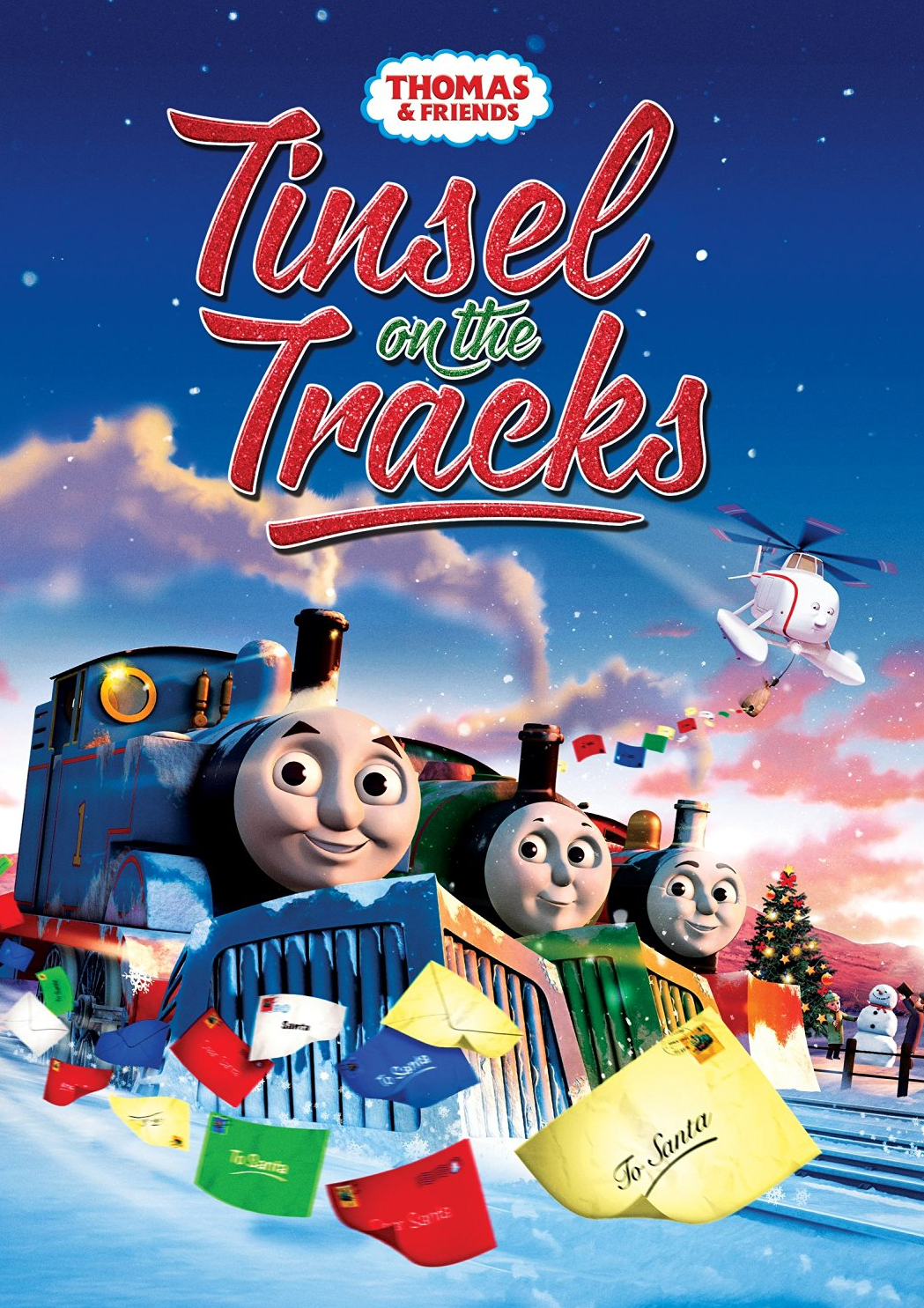 the thomas and friends review station  dvd review  tinsel