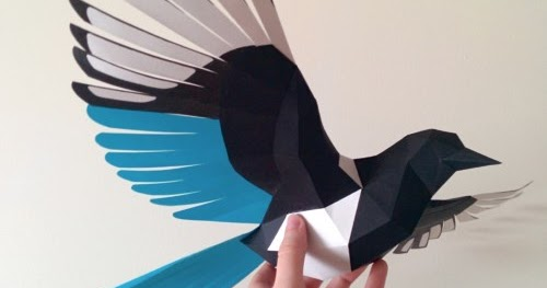 FlyingBirdPapercraftjpg