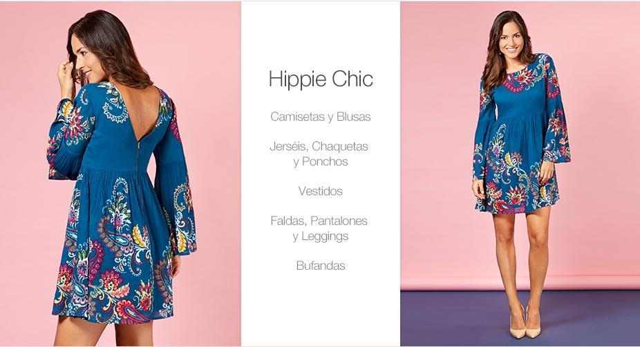 Lujo Vestidos De Dama Hippie Imágenes - Colección del Vestido de la ...