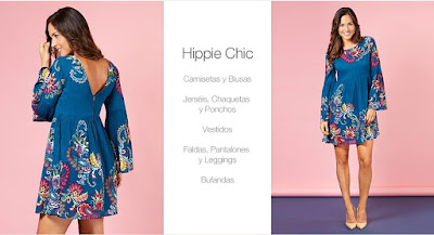 ropa mujer hippie chic