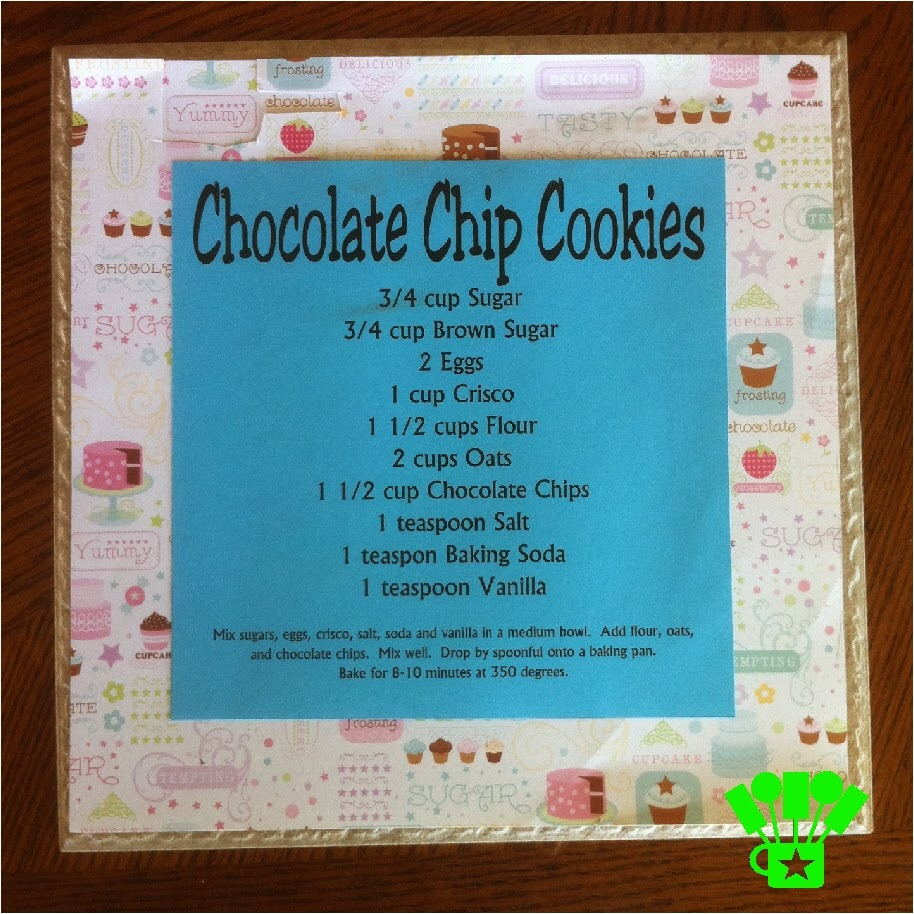 DIY a cute Kitchen Decoration for out of your Recipes