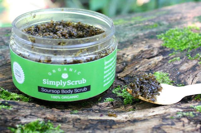 SimplyScrub 100% Organic Soursop Body Scrub