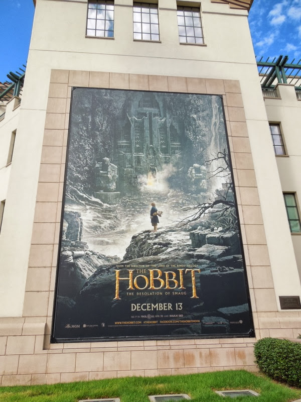Hobbit 2 Desolation of Smaug movie billboard