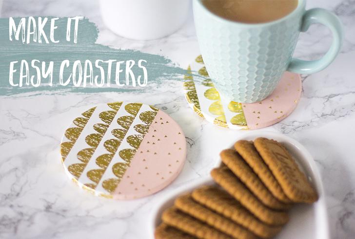 Make it: Easy Coasters