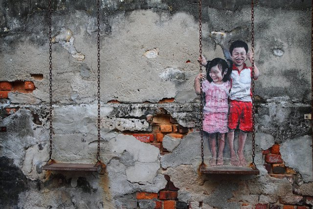 """Penang is the only Asian """"Street Art"""" destination in Lonely Planet 2017"""