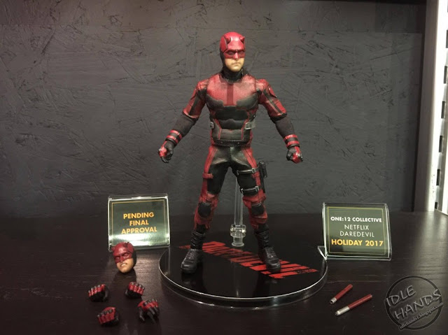 Toy Fair 2017 Mezco One:12 Collective Marvel Comics Netflix Daredevil