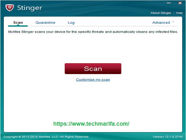 تحميل برنامج الحماية من الفيروسات والبرمجيات الخبيثة MACAFee Stringer للويندوز والأندرويد