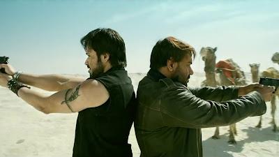 Emraan Hashmi & Ajay Devgn Action HD Wallpaper