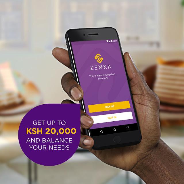 Zenka Loan App Kenya users