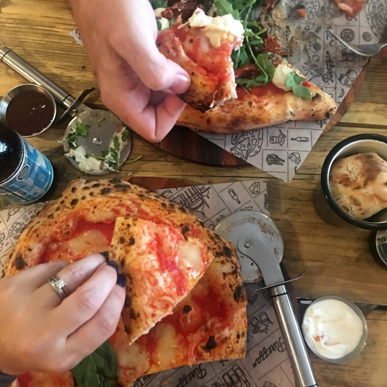 Purezza camden vegan pizza review