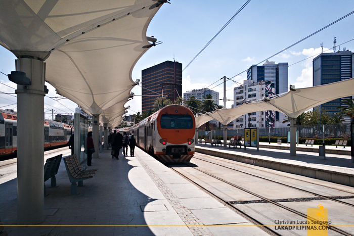 Casablanca to Rabat Train