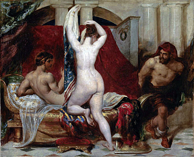 William Etty: La moglie di Candaule