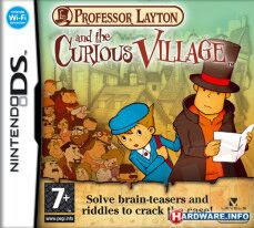 Professor Layton and the Curious Village ( BR ) [ NDS ]
