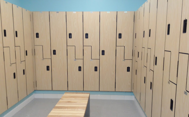 Parker Hannifin @CLEDowntownY lockers at @TheGalleriaCLE  #LivePlayEat