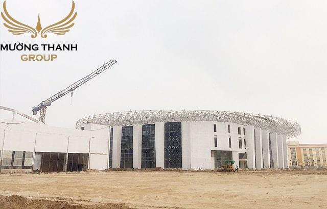 Tổ hợp sân vận động, bể bơi bốn mùa lớn nhất khu vực Tây Nam Hà Nội, tổ hợp sân bóng đá mini sẽ đưa vào hoạt động ngày 30/4/2019.