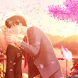 Romance Anime Love couple kissing images HD | PIXHOME