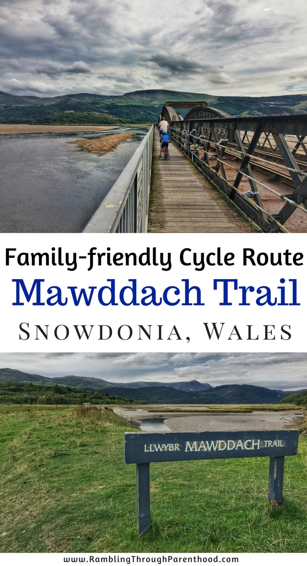 Cycle (or walk) on the Mawddach Trail, Snowdonia, Wales