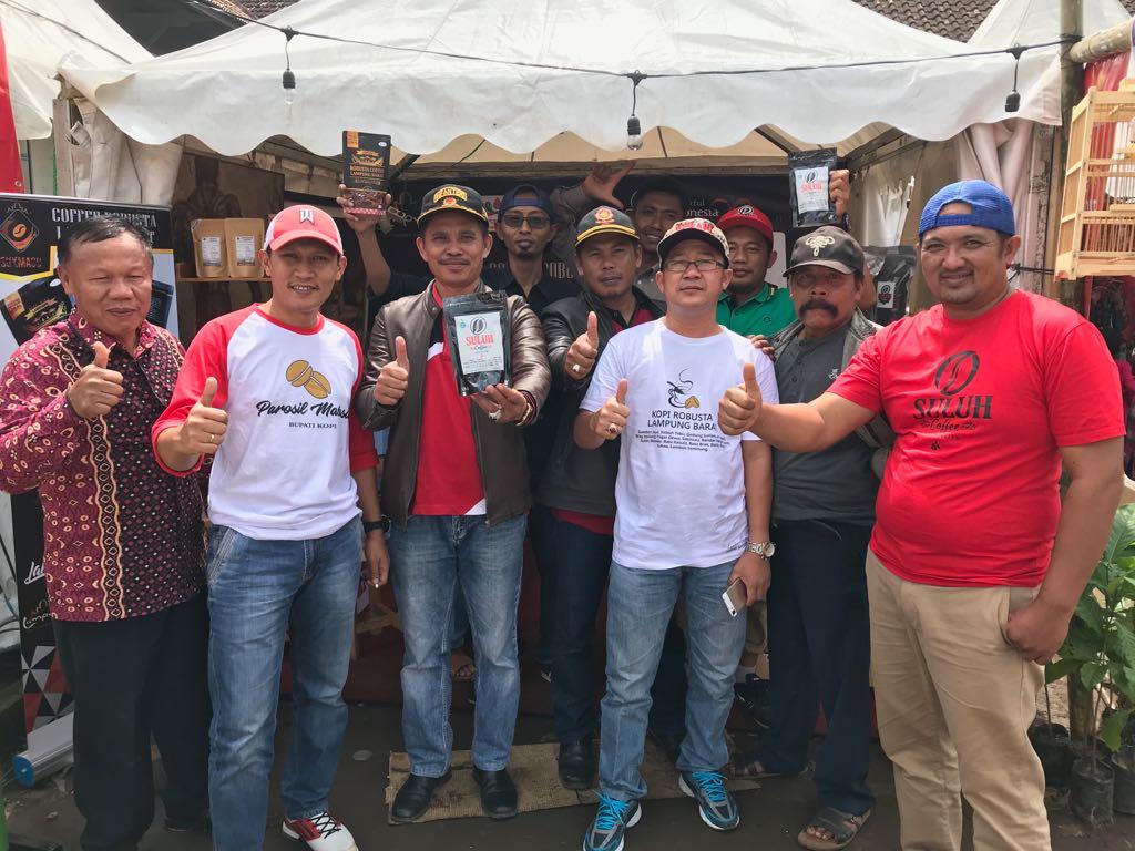 Suluh Coffe Andil Bagian Meriahkan Festival Kopi 2018