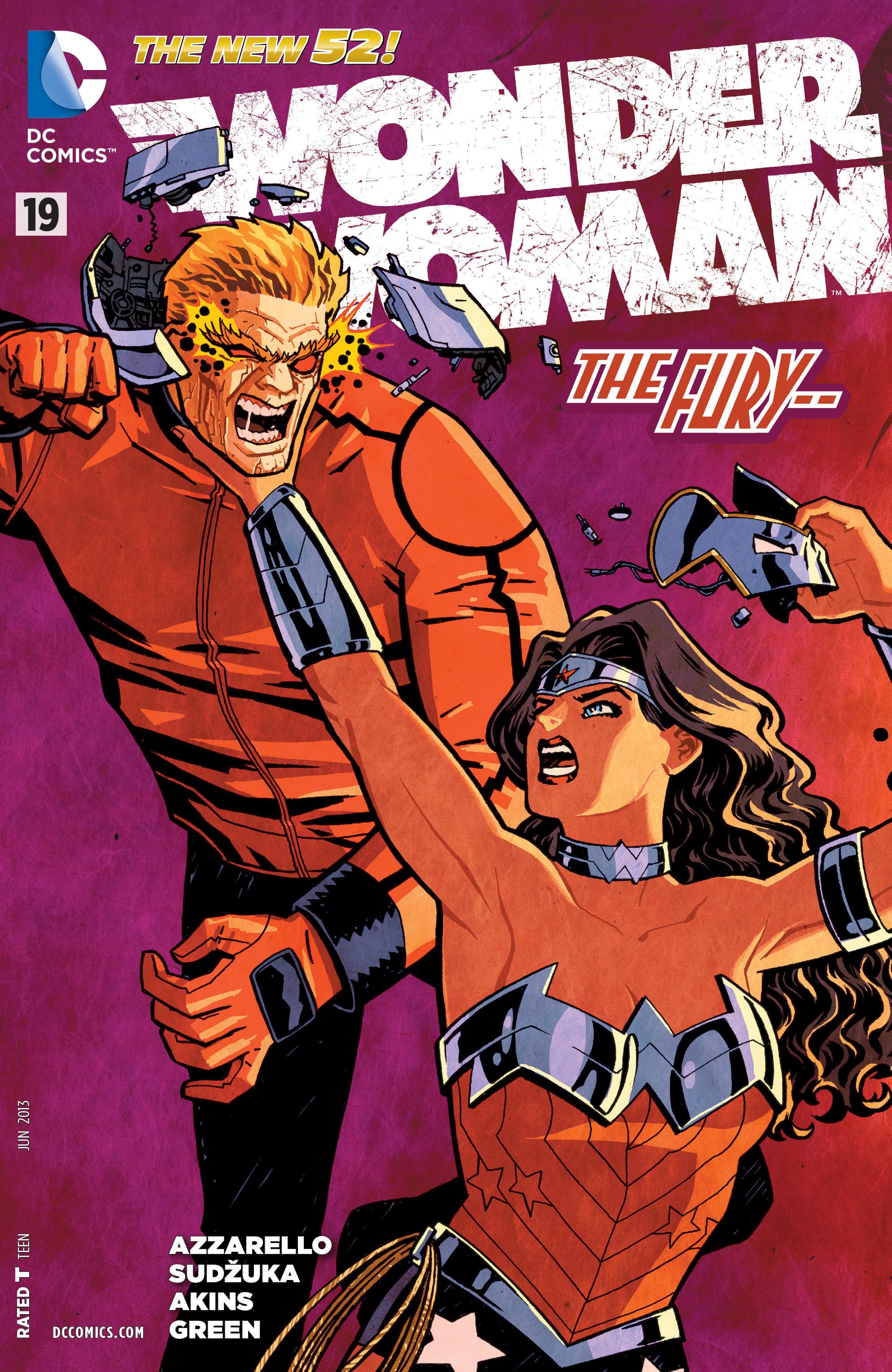 Read online Wonder Woman (2011) comic -  Issue #19 - 1
