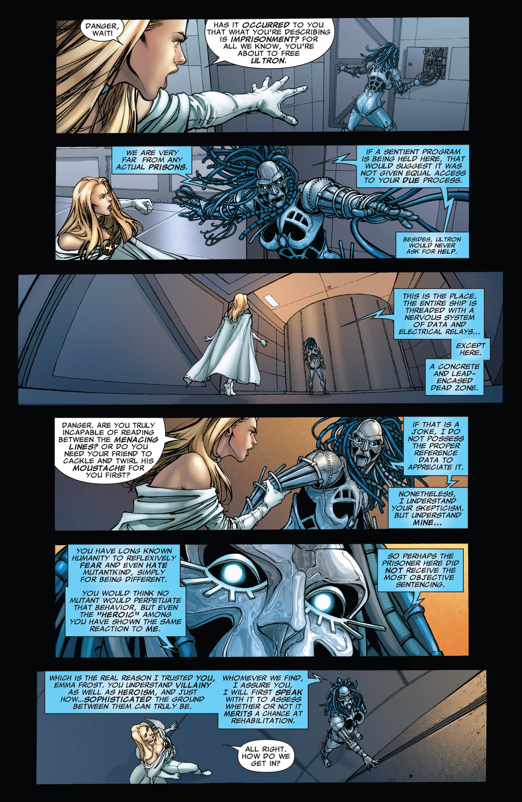 Read online Astonishing X-Men (2004) comic -  Issue #43 - 8