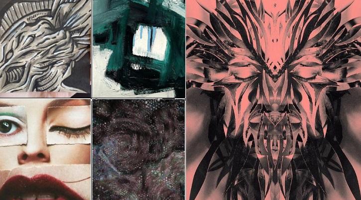 87 Gambar Lukisan Abstrak Pattern Yang Kreatif Dan Unik Punya 1001 Makna Dari Wahok