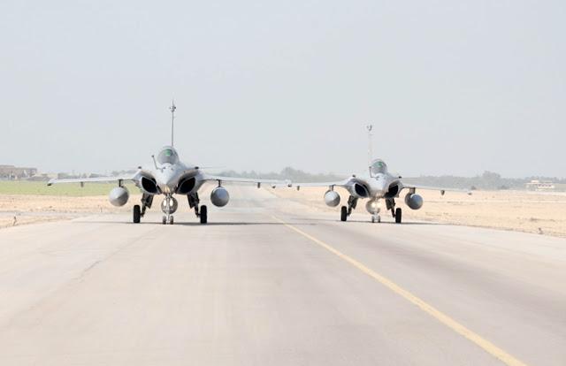 مصر تتسلم طائرتين جديدتين من المقاتلات متعددة المهام من طراز الرافال