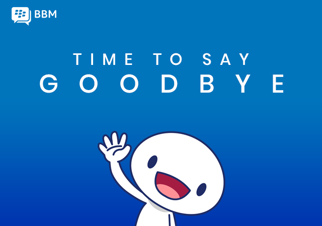 BlackBerry Messenger is Shutting Down May 31