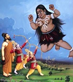 Tataka in Ramayana