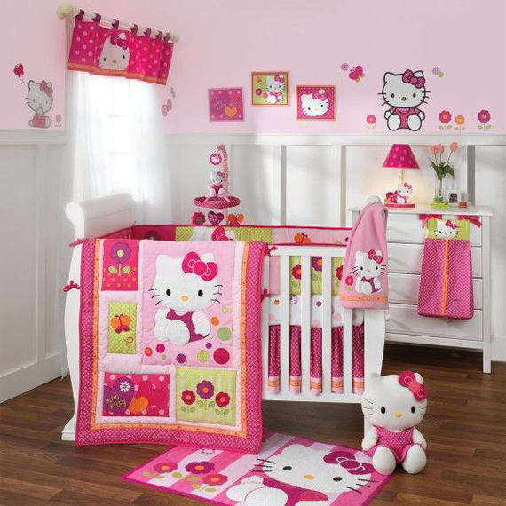 Reka Bentuk Model Bilik Tidur Tema Hello Kitty Minimalis Miva Rate