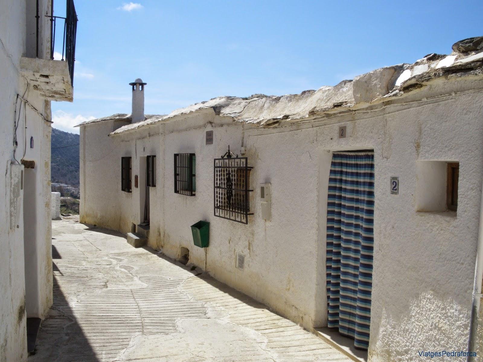 Capileira Granada Alpujarra Barranco del Poqueira Sierra Nevada Andalucia