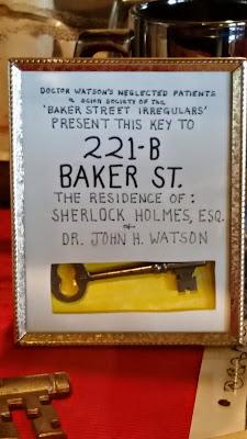 Baldpate Inn Key Collection  221-B Baker Street