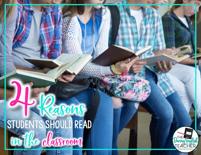 4 Reasons Students Should Read in the Classroom