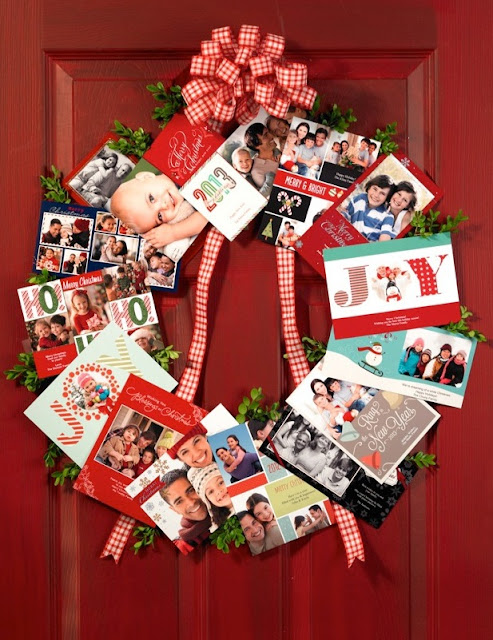 Make this beautiful, personalized photo wreath with photos you can pick up in an hour! It's perfect for last-minute gifting.