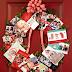 DIY: Easy Holiday Photo Wreath Craft