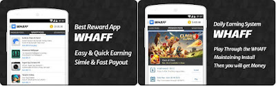 WHAFF Rewards App http://www.nkworld4u.com/ Sign Up Get $0.30, Refer And Earn Unlimited PayPal Cash Money on Android