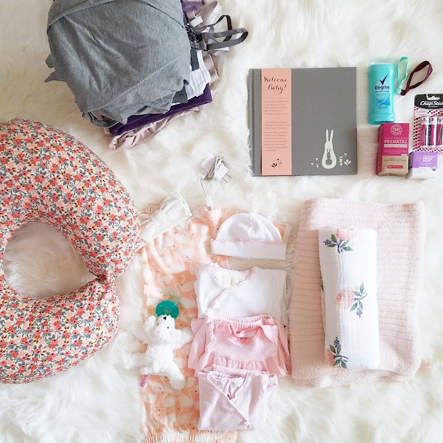 For the Love of Character: Baby Hospital Bag